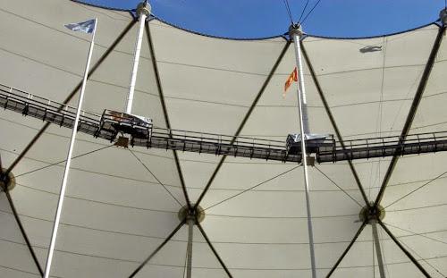El estadio de la Plata se prepara para recibir a Los Pumas