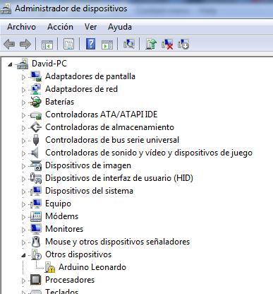 Arduino leonardo treiber download