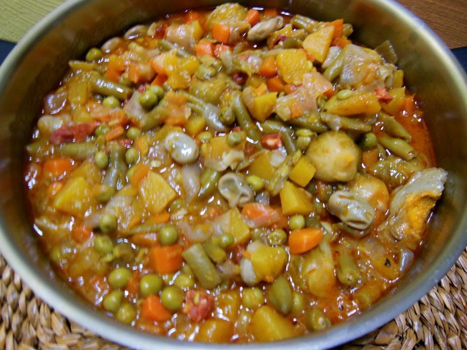 La cocina de natibel menestra de verduras congelada y fresca - Menestra de verduras en texturas ...
