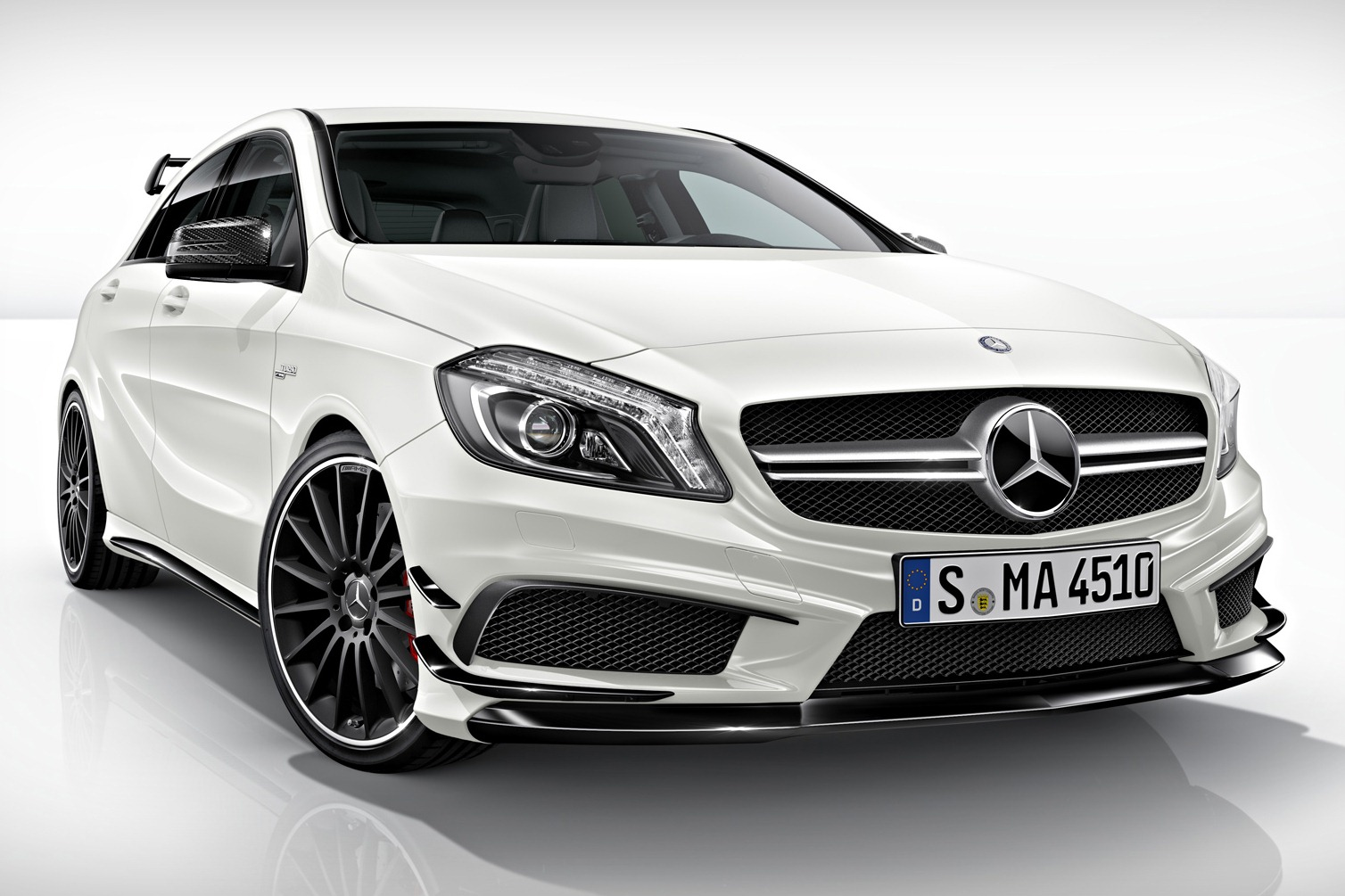 2013 mercedes benz a45 amg revealed autocar news. Black Bedroom Furniture Sets. Home Design Ideas