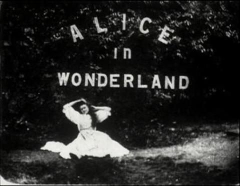 Ver película _: Alice in Wonderland, Cecil Hepworth, 1903