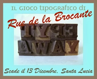 TYPE AWAY DI RUE DE LA BROCANTE