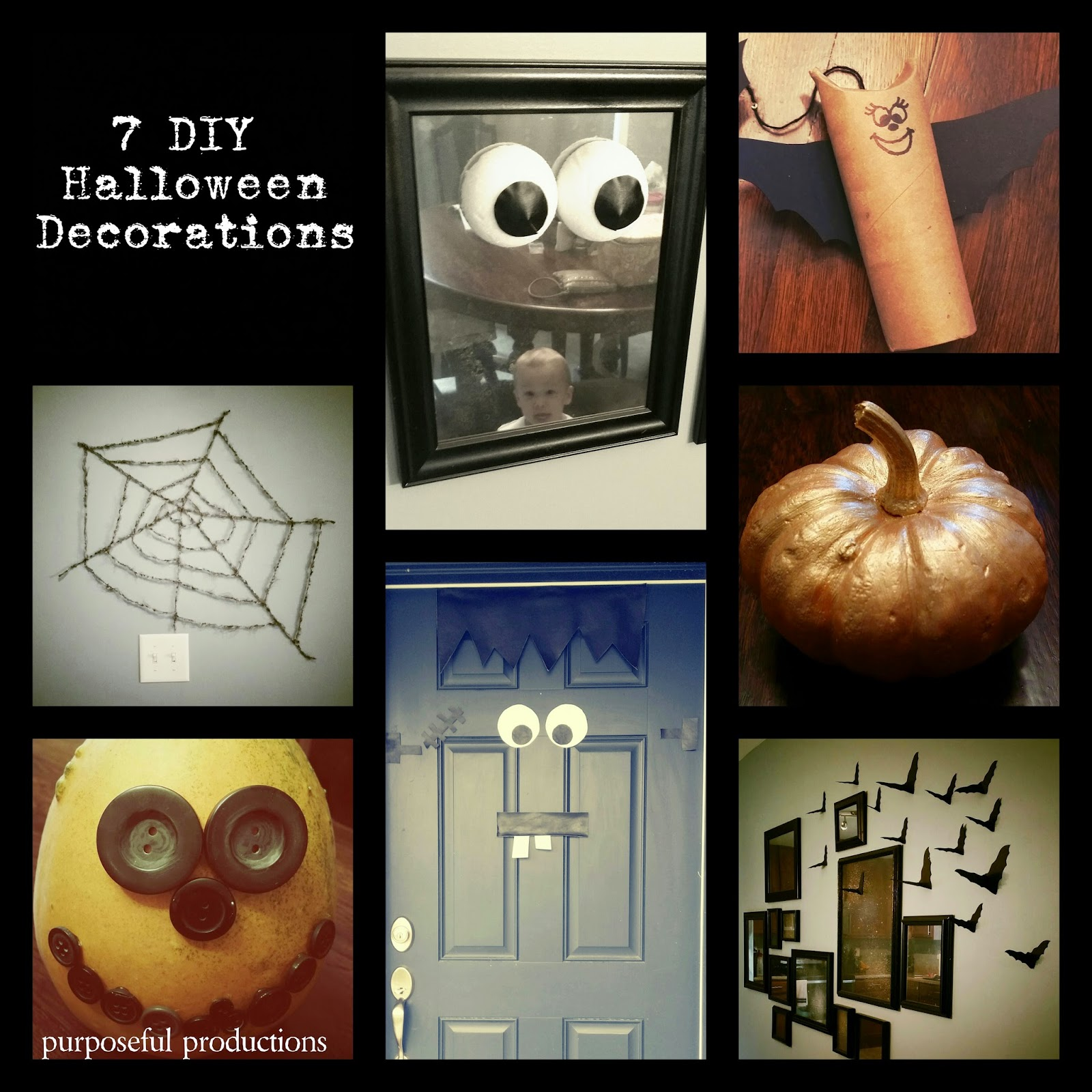 Purposeful Productions: 7 DIY Halloween Decorations