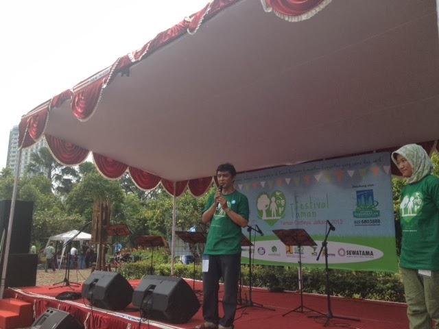 Festival Taman, Kurangi Sampah dan Gunakan Energi Matahari