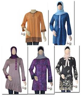 blus muslim ukuran xs