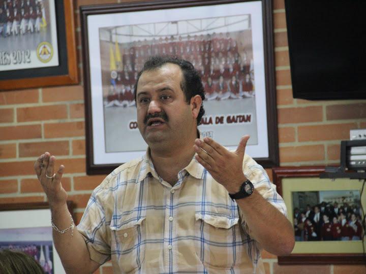Informe al magisterio a cargo del profesor Raúl Alfredo Vásquez Arias del 26 de Julio de 2015