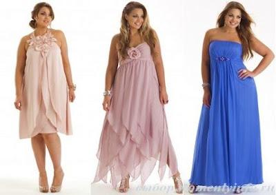 platie3 Мода для повних: секрети краси повних жінок, фото