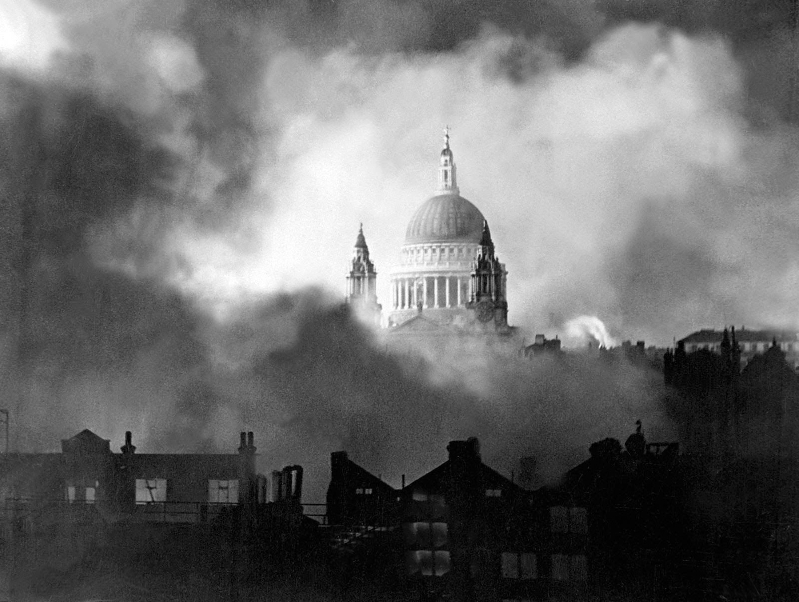 Ultimate Collection Of Rare Historical Photos. A Big Piece Of History (200 Pictures) - St Paul's Cathedral