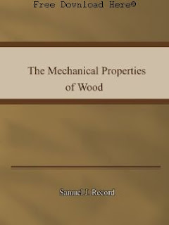 Download The Mechanical Properties of Wood Book