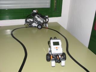 Robots seguidores de líneas