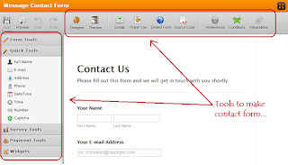 use-online-tools-to-make-contact-form-blogger