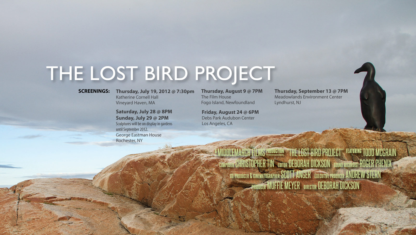 Eco now living in an age of extinction iii the lost bird for Birds project