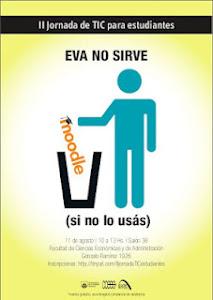 Afiche Jornada 2012 de TIC para estudiantes de la FCEA