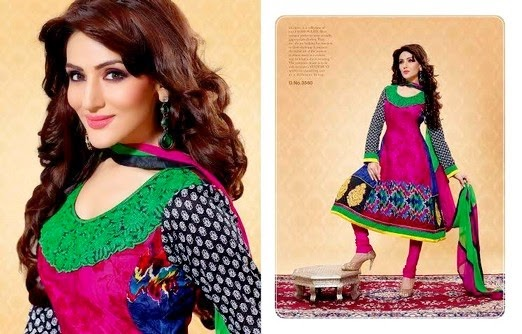 Embroidered Anarkali Dresses In Pakistan