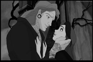 Los personajes Disney en versión punki