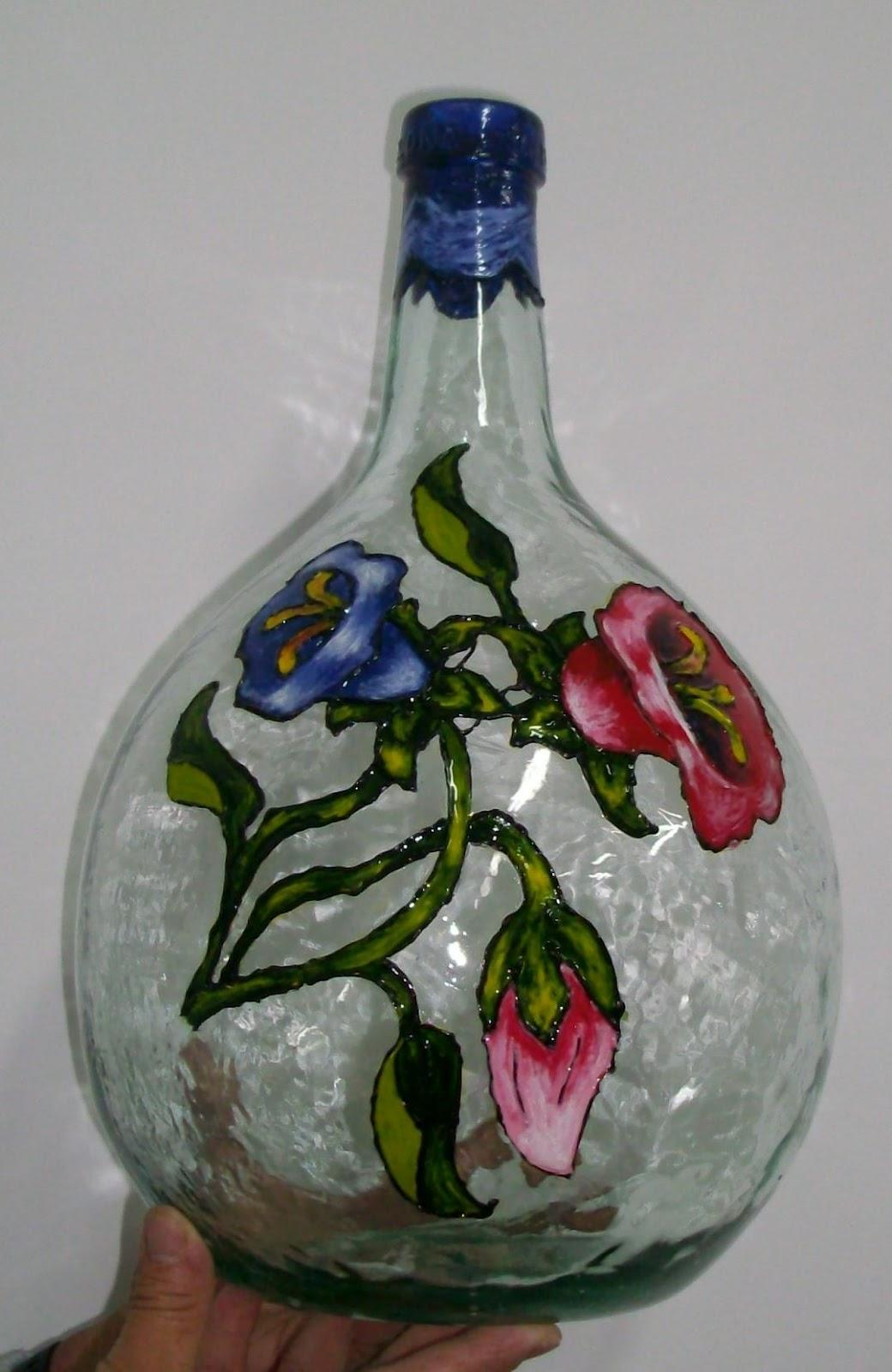 Orecunchodalola garrafas y botellas de cristal decoradas - Botellas de cristal decoradas ...
