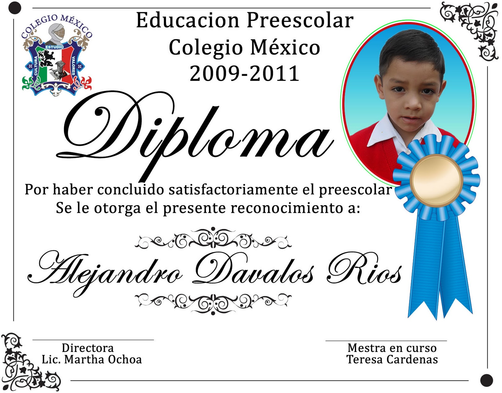 Diploma Para Preescolar