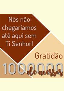 1.000.000 Acessos