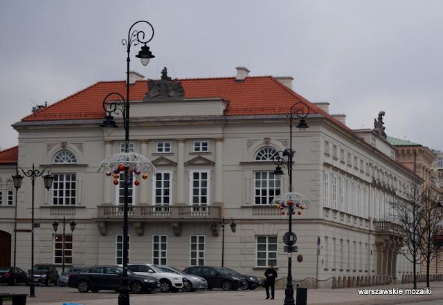 Warszawa Warsaw Krakowskie Przedmieście 32 przyuliczny pałac klasycyzm