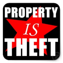 η ιδιοκτησία είναι κλοπή
