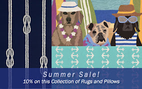 Define Your Summer Space with Fun Coastal Rugs!