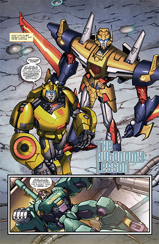 Transformers: Robots in Disguise nº 1