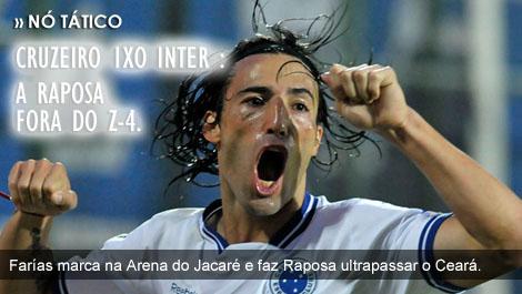Cruzeiro 1 x 0 Internacional : Raposa fora do Z-4!
