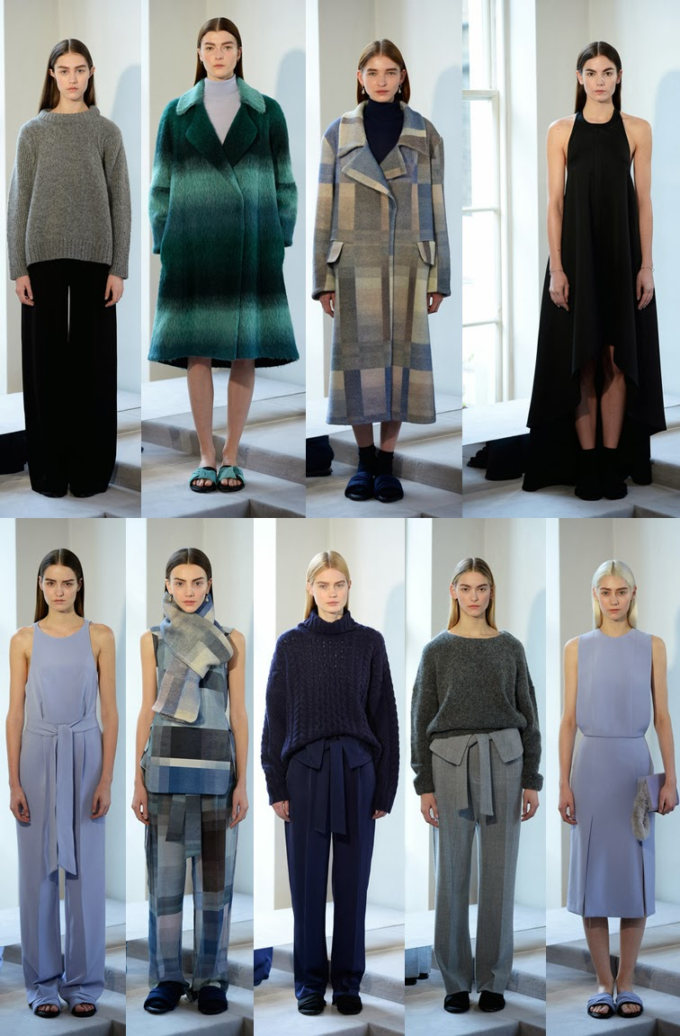 Whistles fall winter 2014 collection presentation, look book, FW14, AW14, LFW, London fashion week