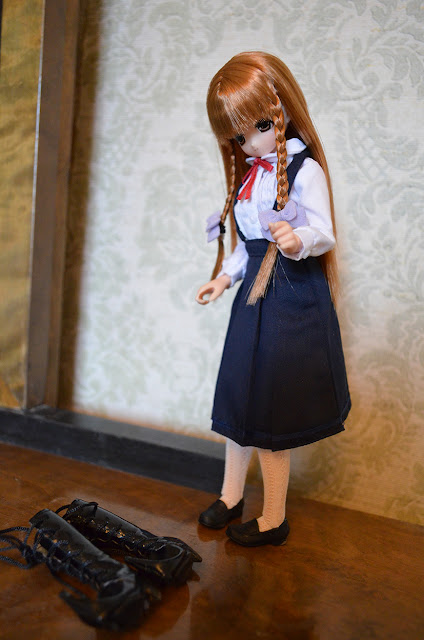 pureneemo excute miu school uniform