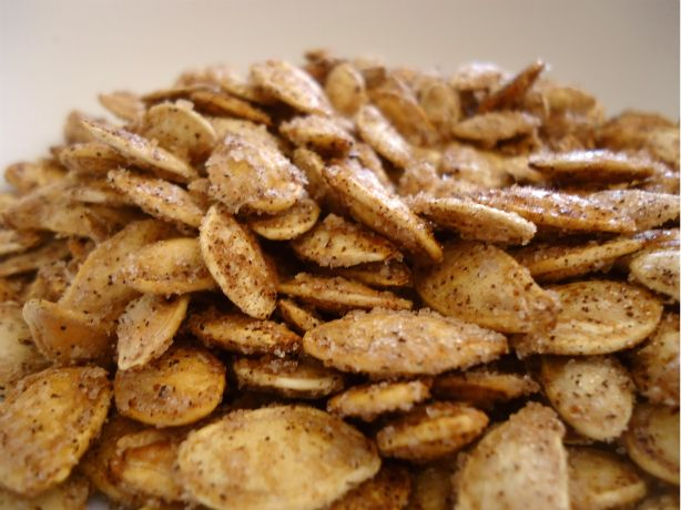 The Beachside Baker: Gourmet Roasted Pumpkin Seeds