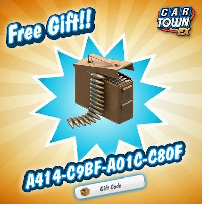 Car Town EX Free Gift Caja de municiones