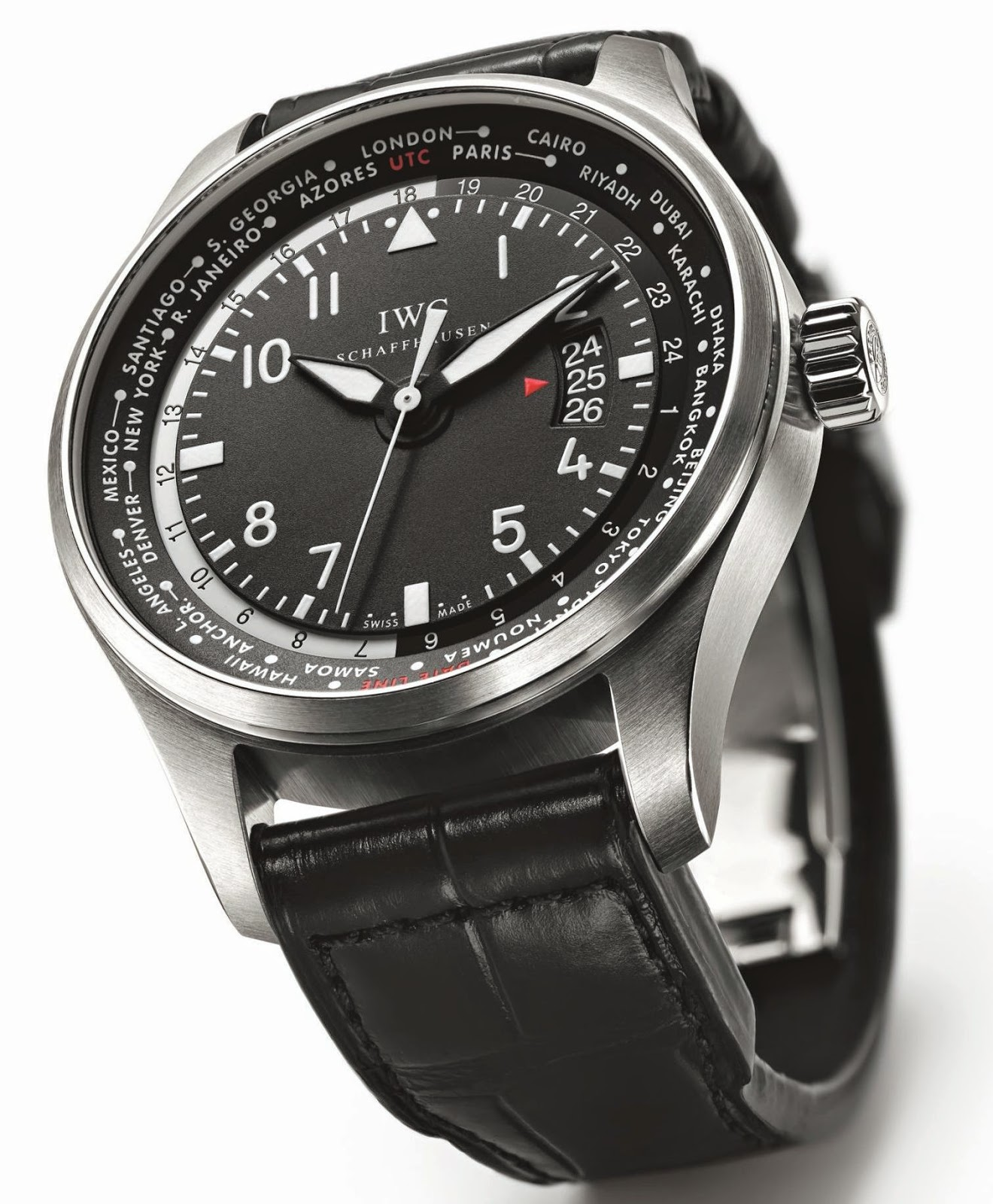 IWC Pilot's Watch Worldtimer watch replica