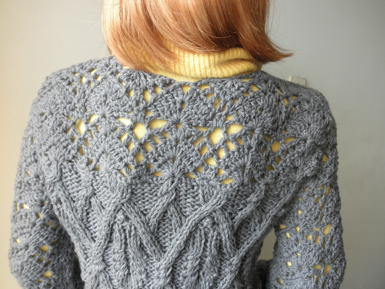 Chompa a palitos y crochet | Entre Lanas e Hilados
