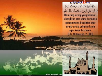 Selamat Menjalani Ibadah Puasa Di Bulan Ramadhan Tahun ini~~