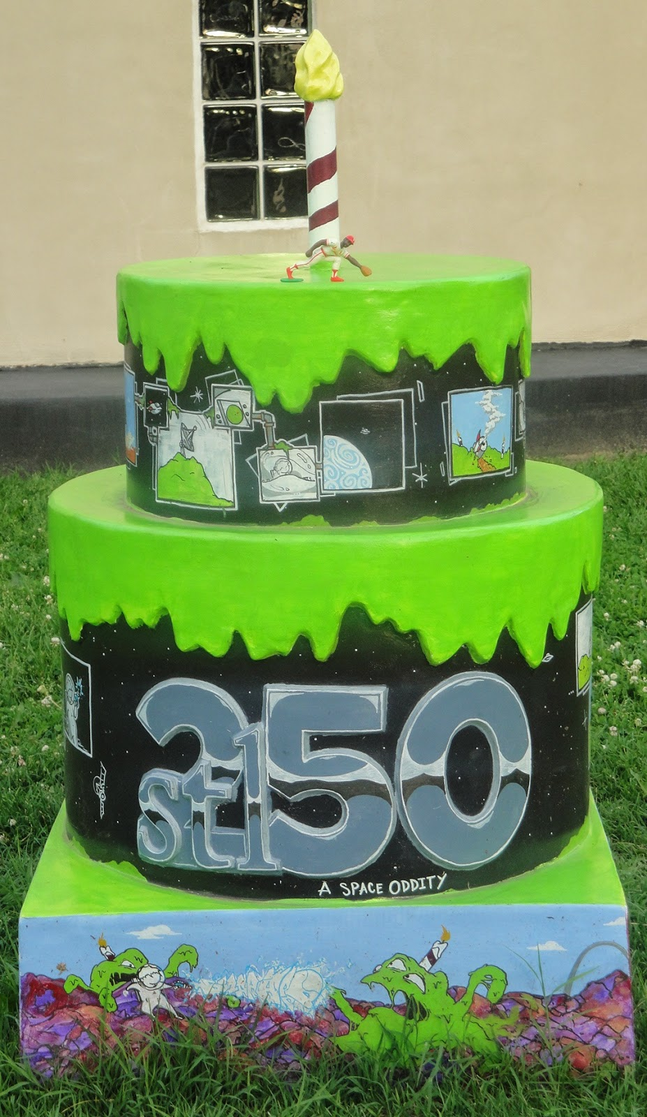 St Louis 250 Years 250 Cakes Here we go 99 Lincoln Park