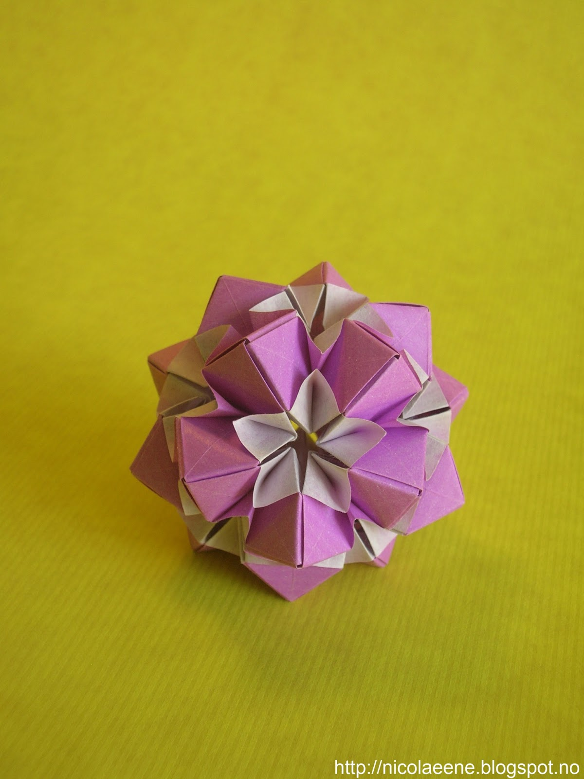 Nicolae Ene Origami Star Flower By Meenakshi Mukerji