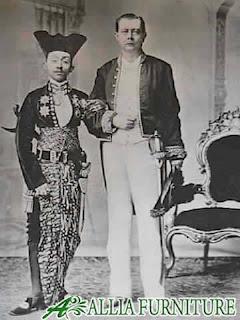 Ilustrasi Raja Jawa & Tamu negara