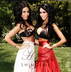 Jennifer Stano &amp; Lilly Ghalichi &#39;s Swimwear