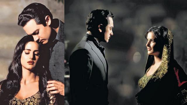 Aamir Khan and Katrina in vintage look for Dhoom 3