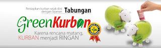 Green Qurban adalah program qurban sekaligus penghijauan/ Dengan 1 hewan qurban turut ditanam 1 pohon sebagai ikhtiah hijaukan bumi.