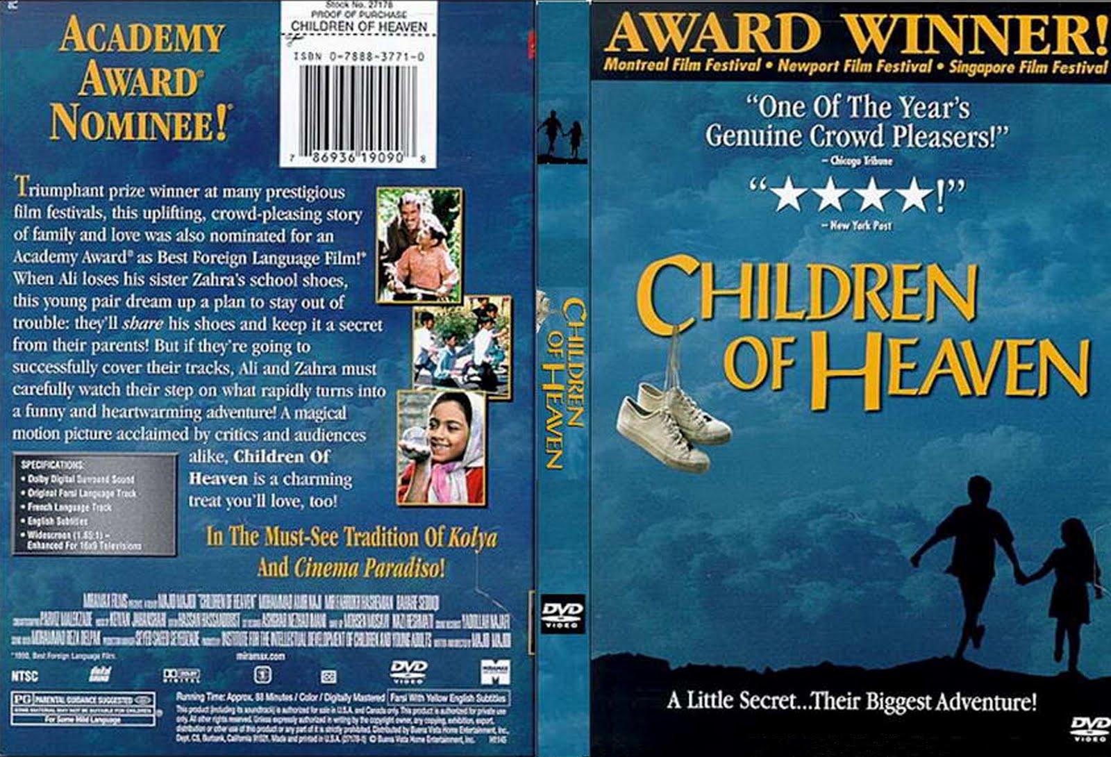 Children of Heaven Dvd Front Cover