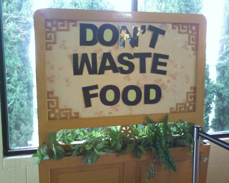essay on do not waste food