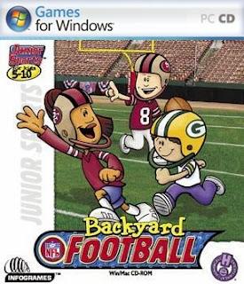 futebol americano original da s rie backyard sports backyard football