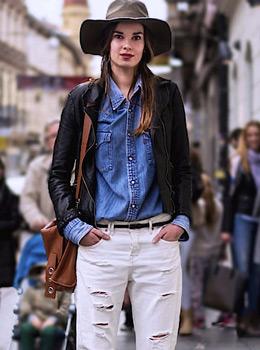 Lara Troskot, street style, women's fall stylish fashion