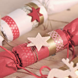 Christmas crackers caseros, xmas crackers caseros