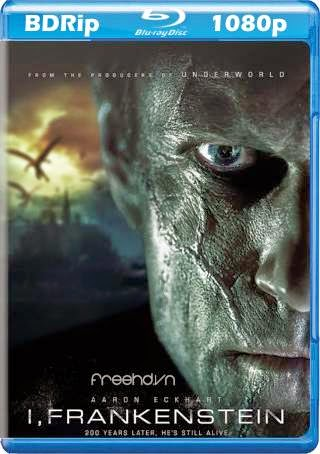 cover blu-ray 1080p I Frankenstein 2014