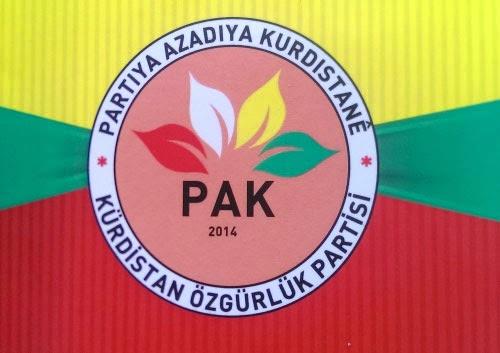 Partiya Azadiya Kürdistan PAK Kürdistan Özgürlük Partisi