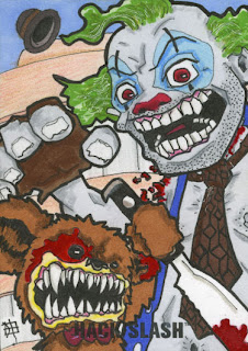 Hack/Slash, clown, bear, j(ay), mortimer Strick