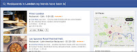 Facebook Graph search map