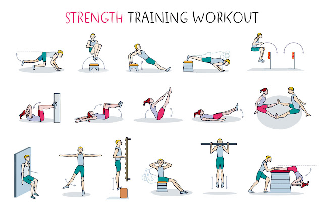 20-minute strength-workout sessions